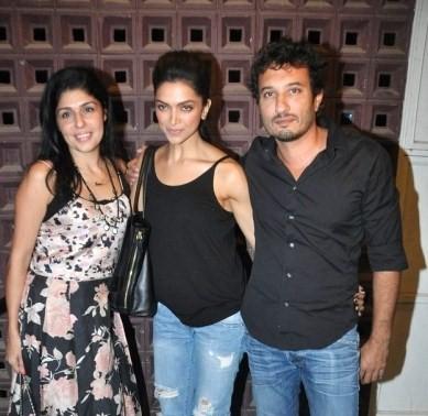 Deepika, Homi, Anaita