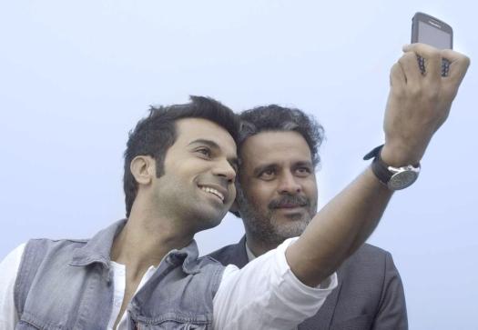 A still from the film, Aligarh