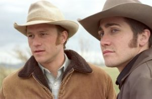 7. Ennis Del Mar and Jack Twist, Brokeback Mountain (2005) Voters found it hard to quit this powerful drama of a relationship between two cowboys, played by Heath Ledger and Jake Gyllenhaal.