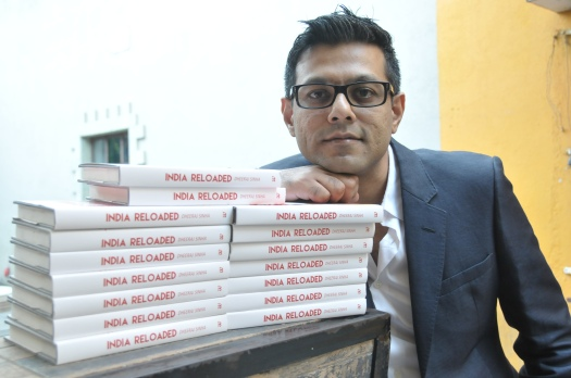 Dheeraj with books
