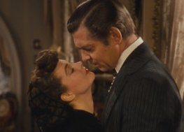 3. Scarlett O'Hara and Rhett Butler, Gone with the Wind (1939) Now 76 years old, the story of Rhett and Scarlett still enchants.