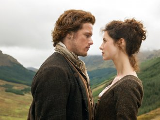 1. Claire Randall and Jamie Fraser, Outlander (2014-) The winning title is not a network TV blockbuster but this US online series of a nurse who travels back in time to the Highlands of the 18th century.