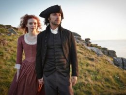 3. Ross Poldark and Demelza, Poldark (1975, 2015-) The BBC's salvage operation of a '70s favourite was a ratings success that resonated, with Ross and Demelza making it into bronze medal position.