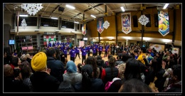 Started Winter Funk with a bang! An exhibition performance by the South Asian Arts Dhol & Bhangra students!