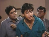 Wagle Ki Duniya, with Anjan Srivastav, Bharati Achrekar and Shahrukh Khan. Photo courtesy of nostalgic902.com