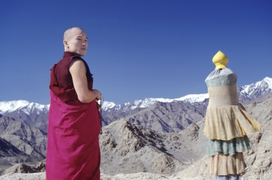 A still from the film Samsara