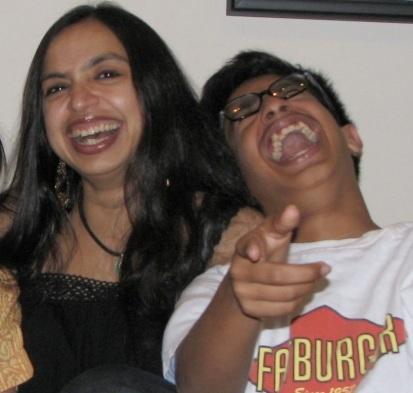 Shonali Bose with Ishan