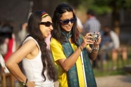 Shonali Bose with Sayani Gupta