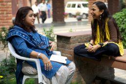 Shonali Bose with Revathi