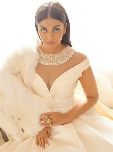 Gown by Manish Malhotra, Ring by Birdhichand Ghanshyamdas Jewellers