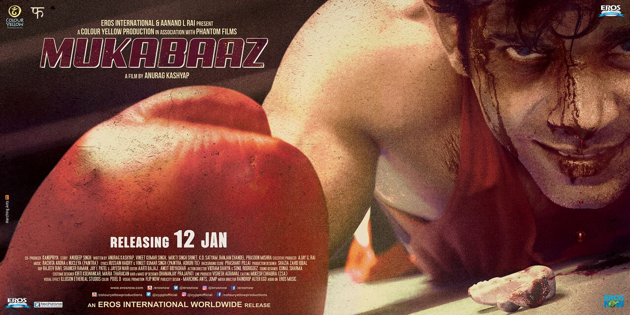 Image result for mukkabaaz movie poster